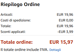 8f4d61e98d 40% Codice Sconto Amazon & Coupon, Agosto 2019