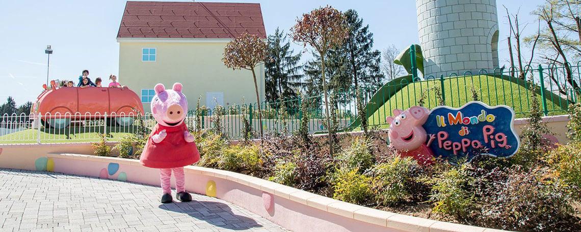 Leolandia il parco di Peppa Pig