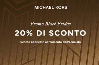 Black Friday Michael Kors: 20% di sconto