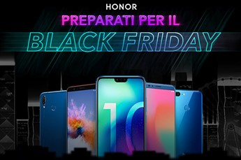 Sconti fino a 30€ in attesa del Black Friday 2018 Honor