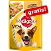 Ricevi subito in Omaggio del Cibo Umido per cani Pedigree Vital Protection Pollo e Verdure in salsa su Zooplus