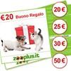 Scegli il tuo Buono Regalo da 20€ a 50€ su Zooplus