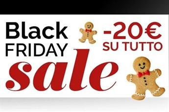 Black Friday: Codice sconto 20€