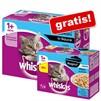12 porzioni di cibo umido per gatti Whiskas 1+ Ragout omaggio su Zooplus