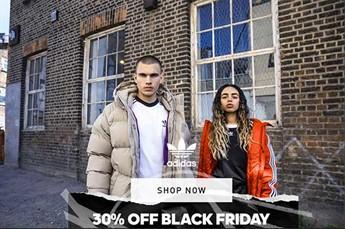 Pre Black Friday su adidas: codice sconto 30%