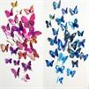5% di sconto su queste decorazioni murali a farfalla su Aliexpress