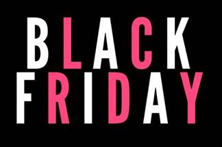 Venerdì 23 novembre 2018: il Black Friday è arrivato!