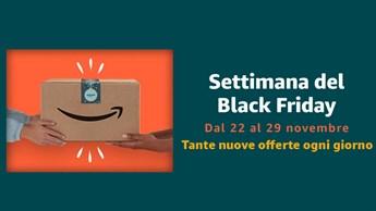 Sono iniziate le offerte di Amazon per il Black Friday: Scopriamo le prime promozioni