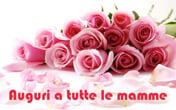 festa della mamma rose colore rosa