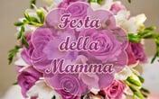 festa della mamma rose viola